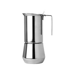 ILSA Espressokocher Turbo Express, 0.35l Kaffeekanne, Espressokocher Turbo Express 6 Tassen Edelstahl 0.35 l - 12 cm x 10 cm x 22 cm