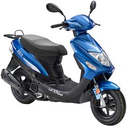 Luxxon Motorroller Eco, 49 ccm, 45 km/h, Euro 4 blau