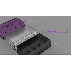 EFEST Efest H2 - Plastikbox für 2x 18650 oder 4x 16340 Batterie wei�