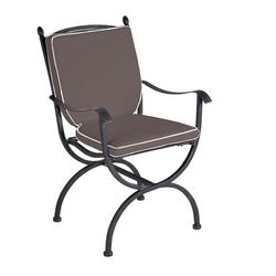 MBM Medici Sitz-/Rückenkissen zu Sessel Medici grau Dunkelgrau