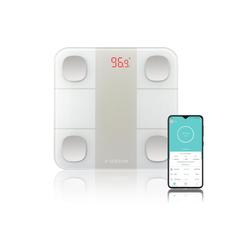 SEBSON Körper-Analyse-Waage Körperfettwaage mit App, digital, Bluetooth, Körperfettanalyse – Körperfett, Wasser, Muskelanteil, BMI, usw - Personenwaage bis 180kg
