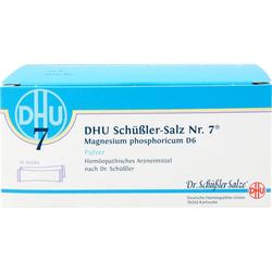 BIOCHEMIE DHU 7 Magnesium phosphoricum D 6 Pulver 10 St.