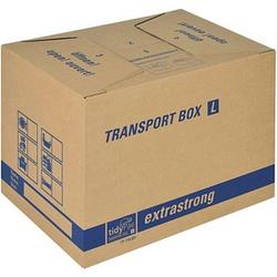 10 tidyPac® Umzugskartons Transport Box L 50,5 x 35,5 x 37,0 cm