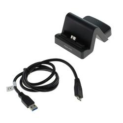 Dockingstation für Smartphones mit Micro-USB 3.0 Anschluss unten