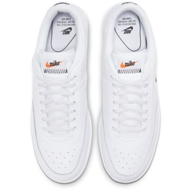 Nike Men's Court Vintage Premium white/total orange/black 42