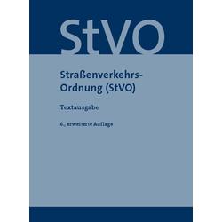 Straßenverkehrs-Ordnung (StVO) als Buch von