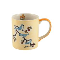 Mila Becher Mila Keramik-Becher Vögel, Keramik