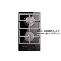 HCG30K Gaskochfeld Glaskeramik 2 Flammen Domino