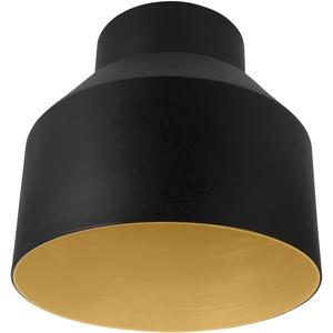Osram Vintage Edition 1906 Lampenschirm Cup, schwarz und gold, Zur Erweiterung Ihrer Osram Pendulum Leuchte, P20, Aluminiumgehäuse