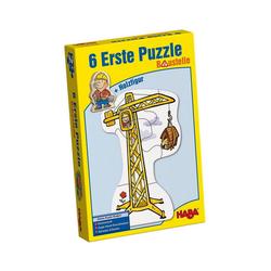 Haba Puzzle HABA 3901 6 Erste Puzzle - Baustelle, Puzzleteile