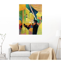 Posterlounge Wandbild, Seiltänzerin 30 cm x 40 cm