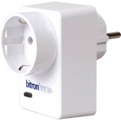 bitronhome Smart Home Zubehör Smart Home Stecker mit Repeater (ZigBee) weiß