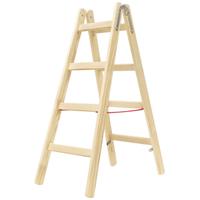 Hymer Holz-Sprossenstehleiter 7141008