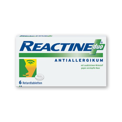 REACTINE® duo Retardtabletten 6 St