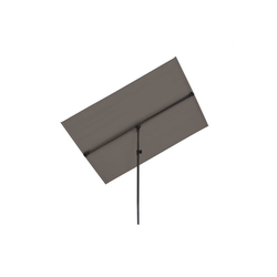 blumfeldt Sonnenschirm Flex-Shade L Sonnenschirm 130 x 180 cm Polyester UV 50 dunkelgrau