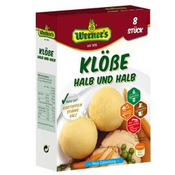 Klöße halb und halb - Werner's