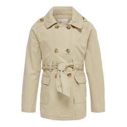 ONLY Klassischer Trenchcoat Damen Beige Female 128