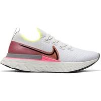Nike React Infinity Run Flyknit W platinum tint/pink blast/total orange/black 40,5
