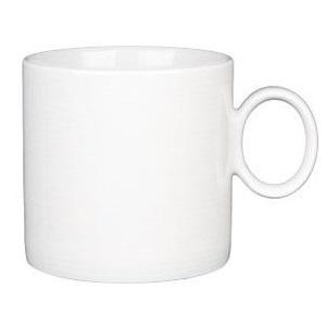Thomas Rosenthal Weiße Tasse mit Loft-Motiv, 6 Stück