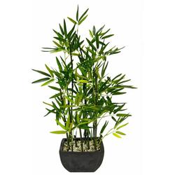 Kunstpflanze Bambus Bambus, I.GE.A., Höhe 75 cm