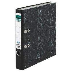 ELBA rado Wolkenmarmor Ordner schwarz marmoriert Karton 5,0 cm DIN A4