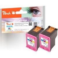Peach kompatibel zu HP 302XL CMY (PI300-656)