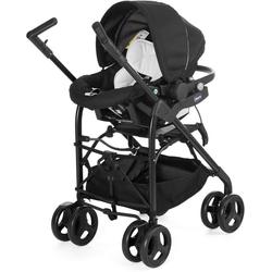 Chicco Kombi-Kinderwagen Trio-System Sprint, black night, mit Regenschutz; Kinderwagen