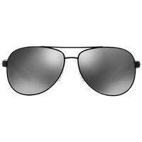 Prada Linea Rossa Benbow PS 53PS 1BO7W1 black demi shiny/grey mirror silver