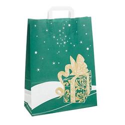 250 Geschenktaschen Weihnachtsgeschenk grün