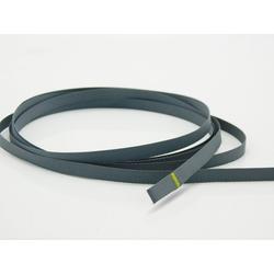 Rollo Texband Jalousieband in Grau 8x0,34 mm, Markiso