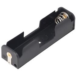 AccuCell Batteriehalter für 1x Mignon AA LR6 Batterie, Akku