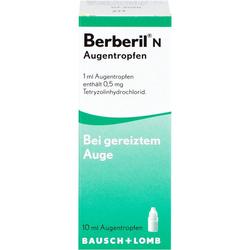BERBERIL N Augentropfen 10 ml