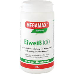 Eiweiss 100 Himbeer Quark Megamax Pulver 400 g