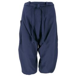 Guru-Shop Haremshose Baggy Shorts, Sarouel Hose - blau blau S