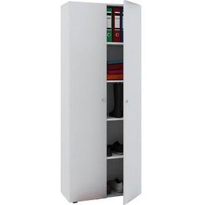 VCM Aktenschrank Vandol 912118, aus Holz, 70 x 178 x 39cm, weiß