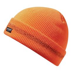 Strickmütze orange