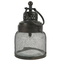 Ib Laursen Kerzenhalter LED Laterne Windlicht Gartenlaterne H 29cm Metall Glas Ib Laursen 3455-25