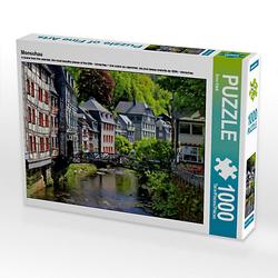 Monschau Lege-Größe 64 x 48 cm Foto-Puzzle Bild von Arno Klatt Puzzle