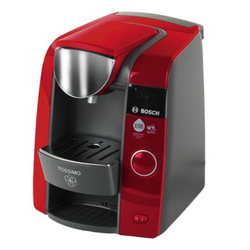 Klein Kinder-Kaffeemaschine Theo Bosch Tassimo - Spielzeug-Kaffeemaschine - rot