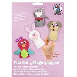 Filz-Set Fingerpuppen Haustiere