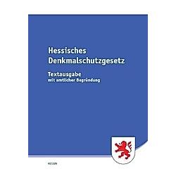 Hessisches Denkmalschutzgesetz (HDSchG) - Buch