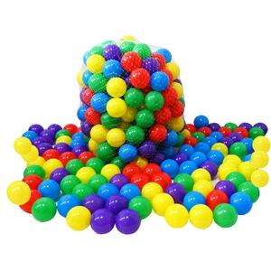 Kiddy-Fux 1000 Stück Bälle für Bällebad Ø5,5cm Bälle für Kinder Bällebäder Babybälle Plastikbälle Ballpool Bällepool 1000er Spielbälle Kinderbällebad 5,5cm Durchmesser Pack