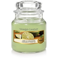 Yankee Candle Lime & Coriander Duftkerze 104 g