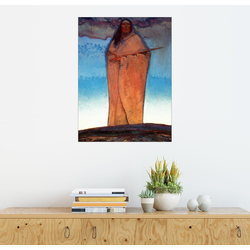 Posterlounge Wandbild, Medizinmann 50 cm x 70 cm