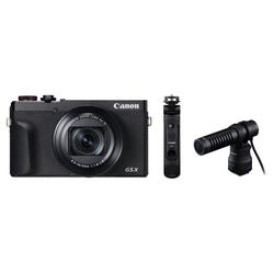 Canon PowerShot G5X Mark II schwarz + HG-100TBR + DM-E100