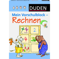 Duden-M.Vorschulblock Rechnen