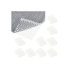 Antirutsch Teppichunterlage 10 x Antirutschmatte Teppich 120x180 cm, relaxdays