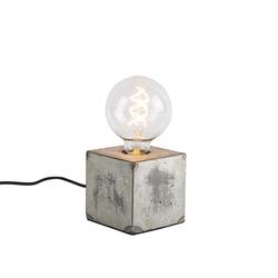 Industrielle Tischlampe grau - Samia Sabo