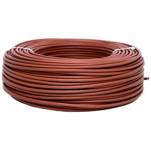 COFAN 51004010 M – Kabel (1 x 6 mm, 100 m Rolle, h07 V-k) braun