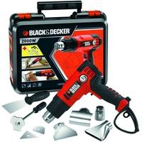 Black & Decker Black + Decker KX2200K-QS Heißluftpistole/Abbeizgerät, 2000 W